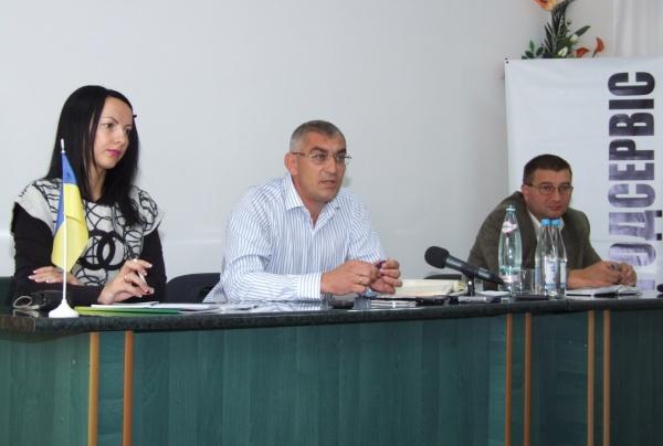Іван Чайківський презентував журналістам передвиборчу програму
