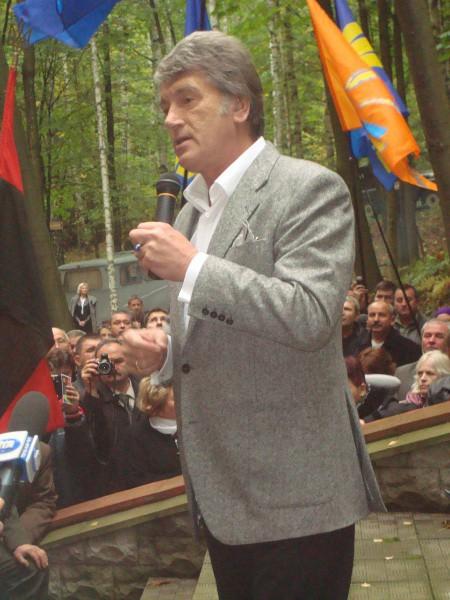 Віктор Ющенко побував у повстанській столиці