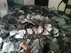 """У Тернополі невідомі підпалили декілька тисяч примірників газет ВО """"Свобода»"""