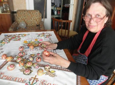 Таємниці писанок від пані Володимири