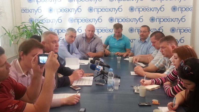 Круглий стіл на тему: «Ніч після голосування – як визначали результати виборів на Тернопільщині»