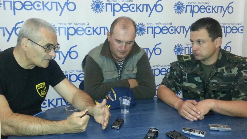 Прес-конференція на тему – «Ситуація на Сході України. Що потрібно українській армії»
