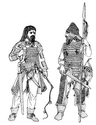 скіфські воїни до тексту 6 с