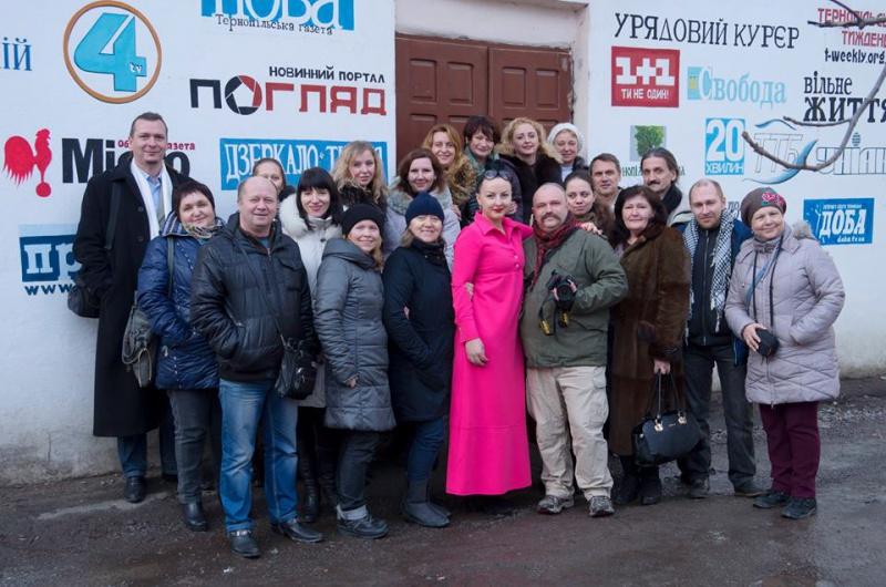 Журналісти із шести регіонів України пізнавали Тернопільщину
