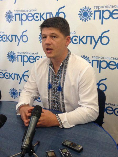 Андрій Шараскін («Богема») з «Правого Сектору»: «Наш політичний рух не підтримує жодної політичної сили на місцевих виборах і жодного кандидата»