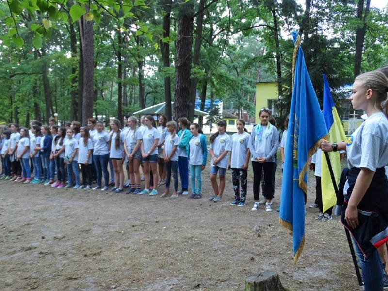 Понад 160 учасників зібрав Всеукраїнський благодійний табір «Ми – Україна!»