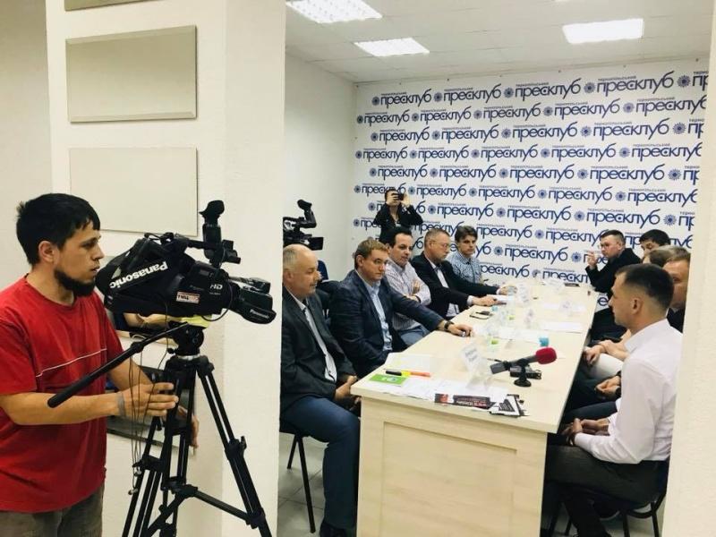 У прес-клубі політики та активісти Тернопільщини оголосили вимоги Всеукраїнської акції за виборчу реформу