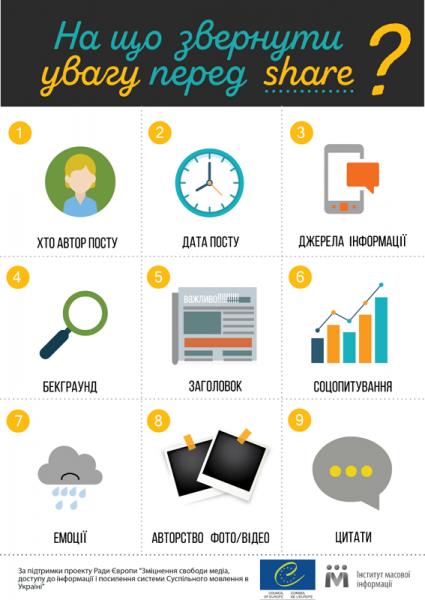 9 правил достовірної інформації