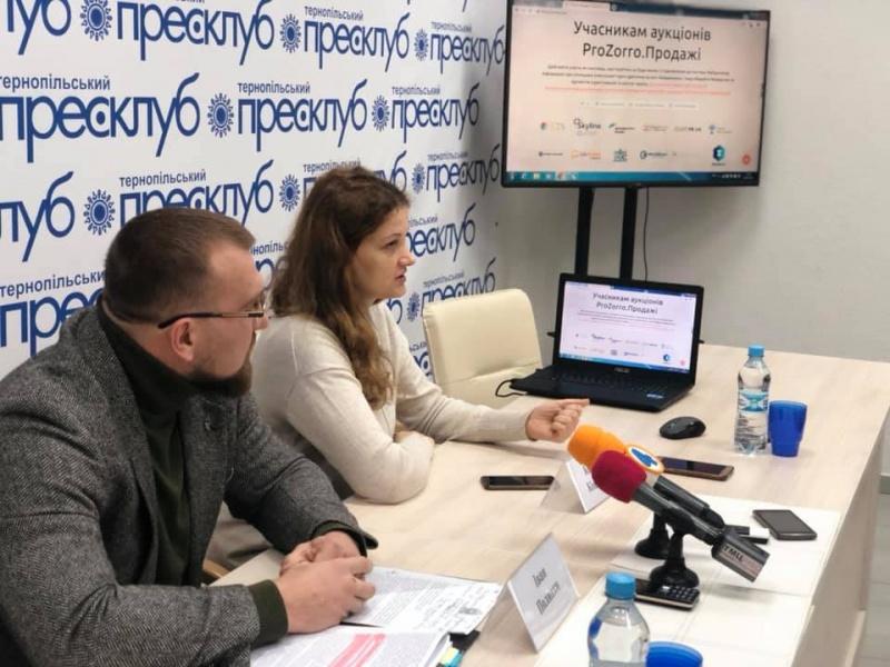"""Про використання системи """"ProZorro.Продажі"""" для оренди комунального майна Тернополя"""