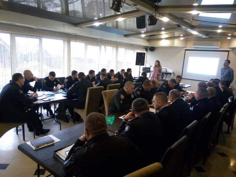 ОПОРА провела тренінг щодо виборчого законодавства для правоохоронців Тернопільської області