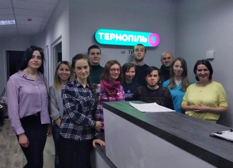 Слухачі регіональної Школи мультимедійної та телевізійної журналістики дізналися, як працює місцевий телеканал