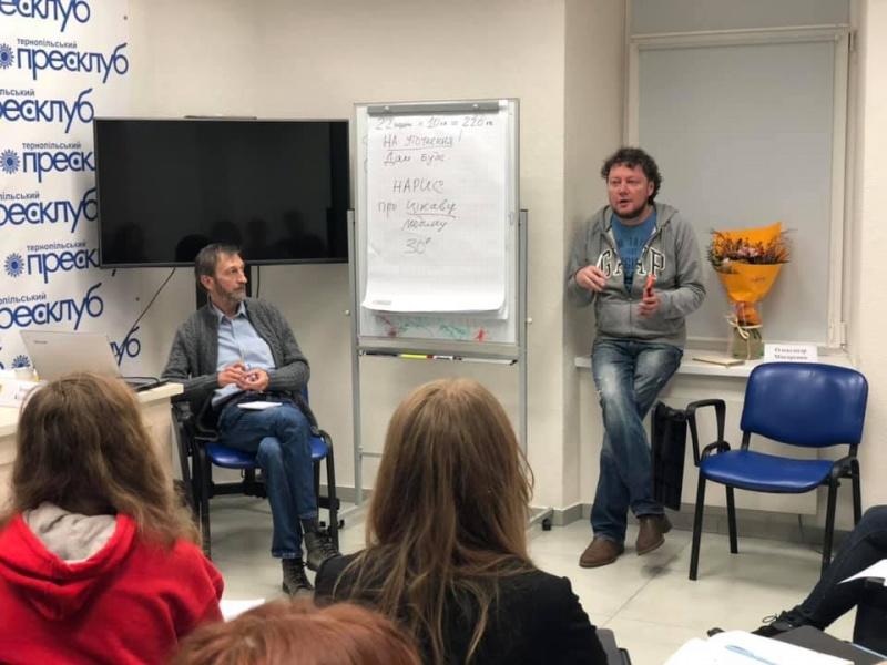 Навчальний курс з телевізійної журналістики Ігора Куляса та Олександра Макаренка
