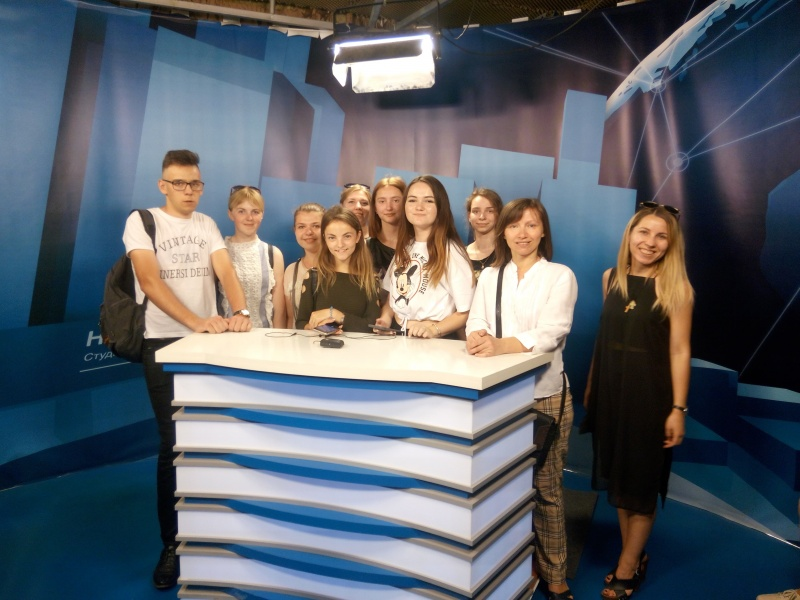 Чергове заняття Школи мультимедійної та телевізійної журналістики відбулося на  ІНТБ