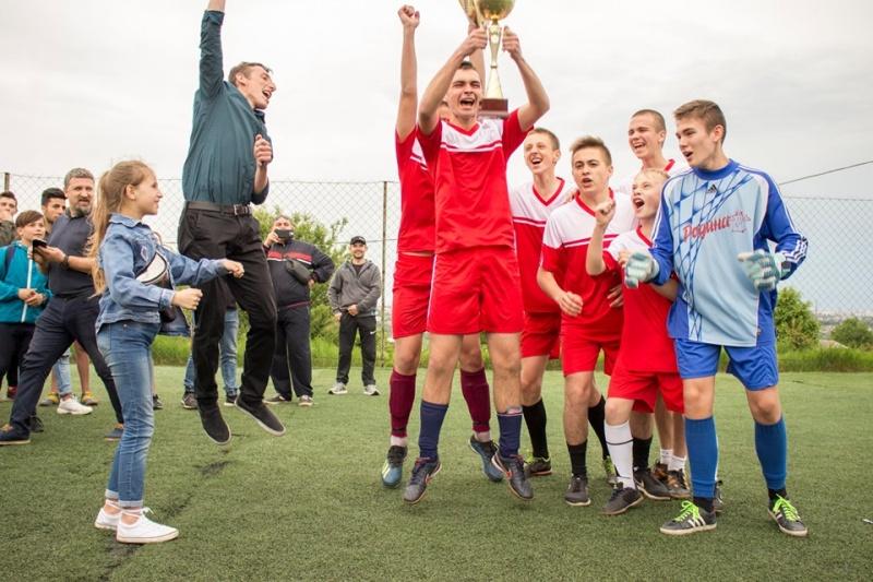«Кайрос» став першим серед юних футболістів