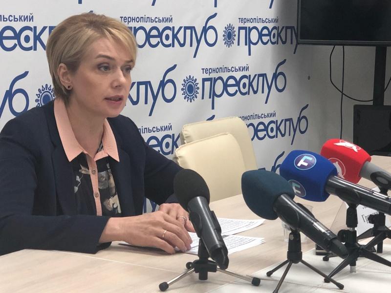 Брифінг Міністра освіти і науки України Лілії Гриневич
