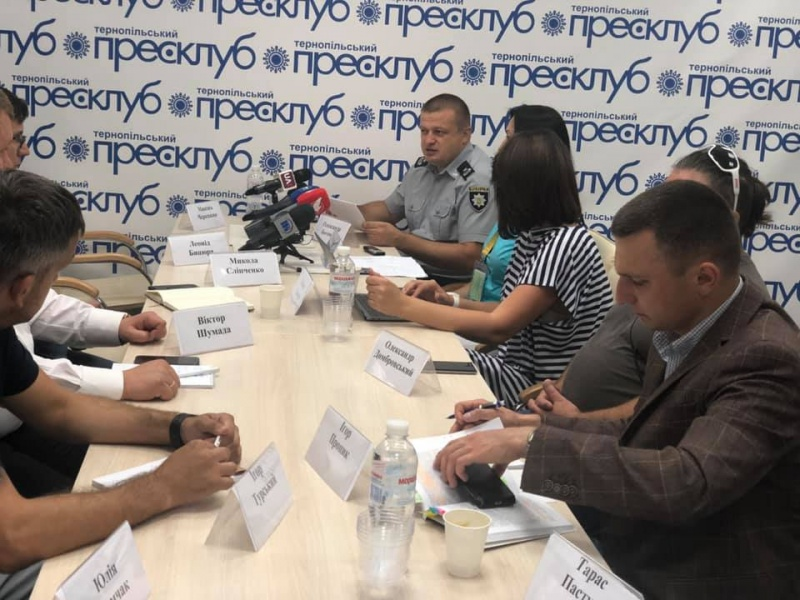 «Доба виборів-2019 з Тернопільським прес-клубом: парламентські перегони на Тернопільщині»-брифінги