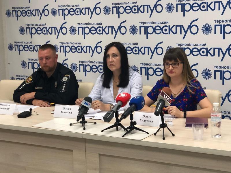 Пресконференція ГМ ОПОРА щодо передвиборчої ситуації на Тернопільщині