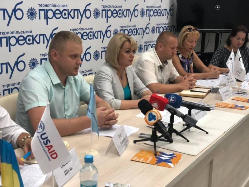 Пресконференція присвячена інформаційній кампанії з протидії торгівлі людьми на Тернопільщині