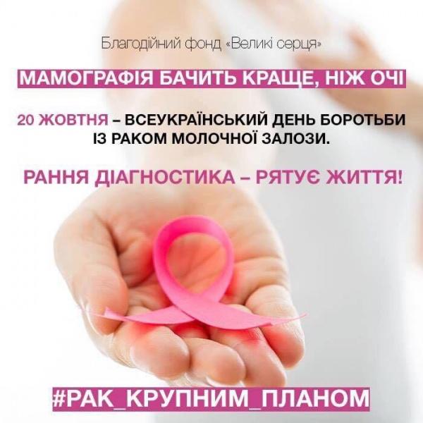 21 жовтня об 11:00 у прес-клубі  пресконференція «Зупинимо рак разом»