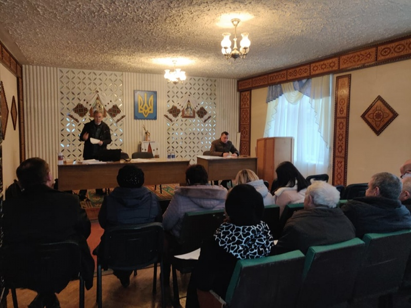 У новостворених ОТГ Тернопільщини відбулися інформаційно-просвітницькі заходи