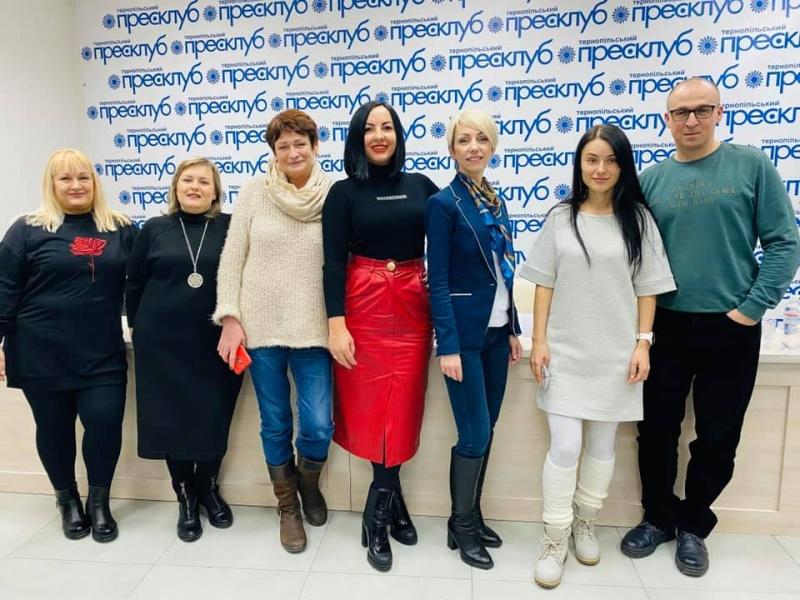 Презентація VII Регіональної Школи сучасної журналістики Тернопільського прес-клубу