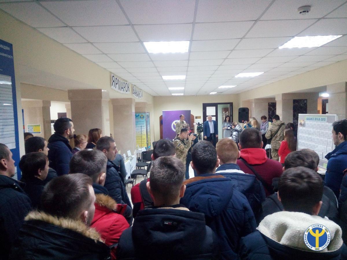 Відбувся ярмарок вакансій Тернопільської військової частини А3215
