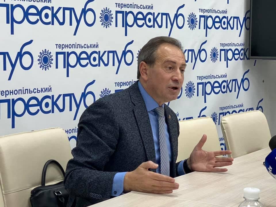 Пресконференція з  громадським та політичним діячем, лідером Громадського руху «Рідна країна» Миколою Томенком