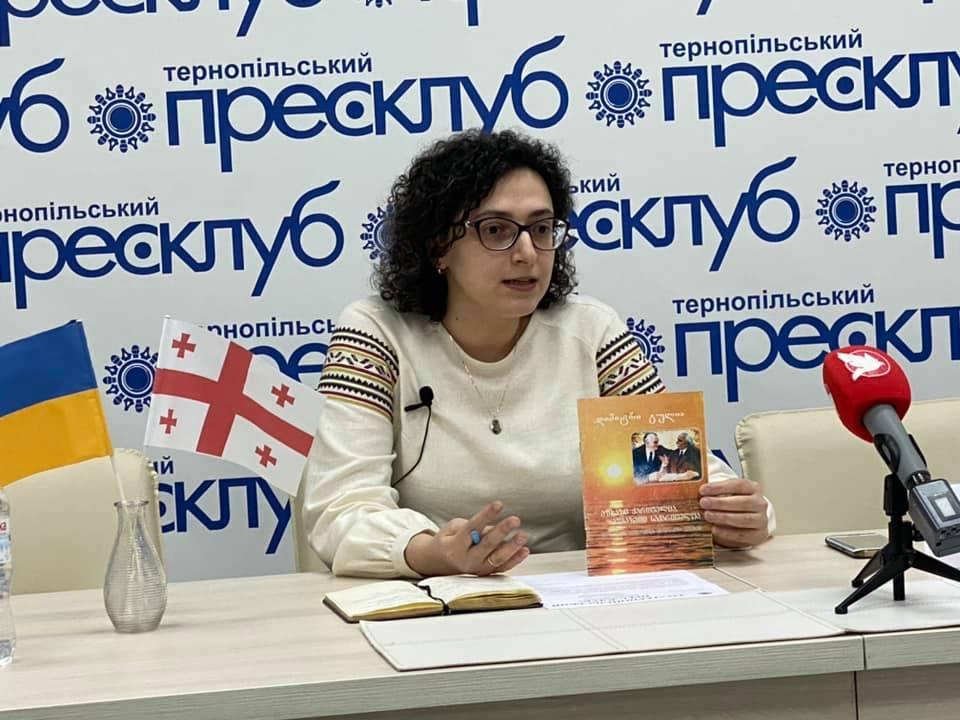 Зустріч з Тамтою Ґуґушвілі – про нову ініціативу і власний  проект «Абхазія – це Грузія. Крим – це Україна»