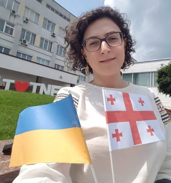26 травня о 12:00 у прес-клубі – зустріч з головною редакторкою грузинсько-українського сайту «UAGE-NEWS» Тамтою Ґуґушвілі