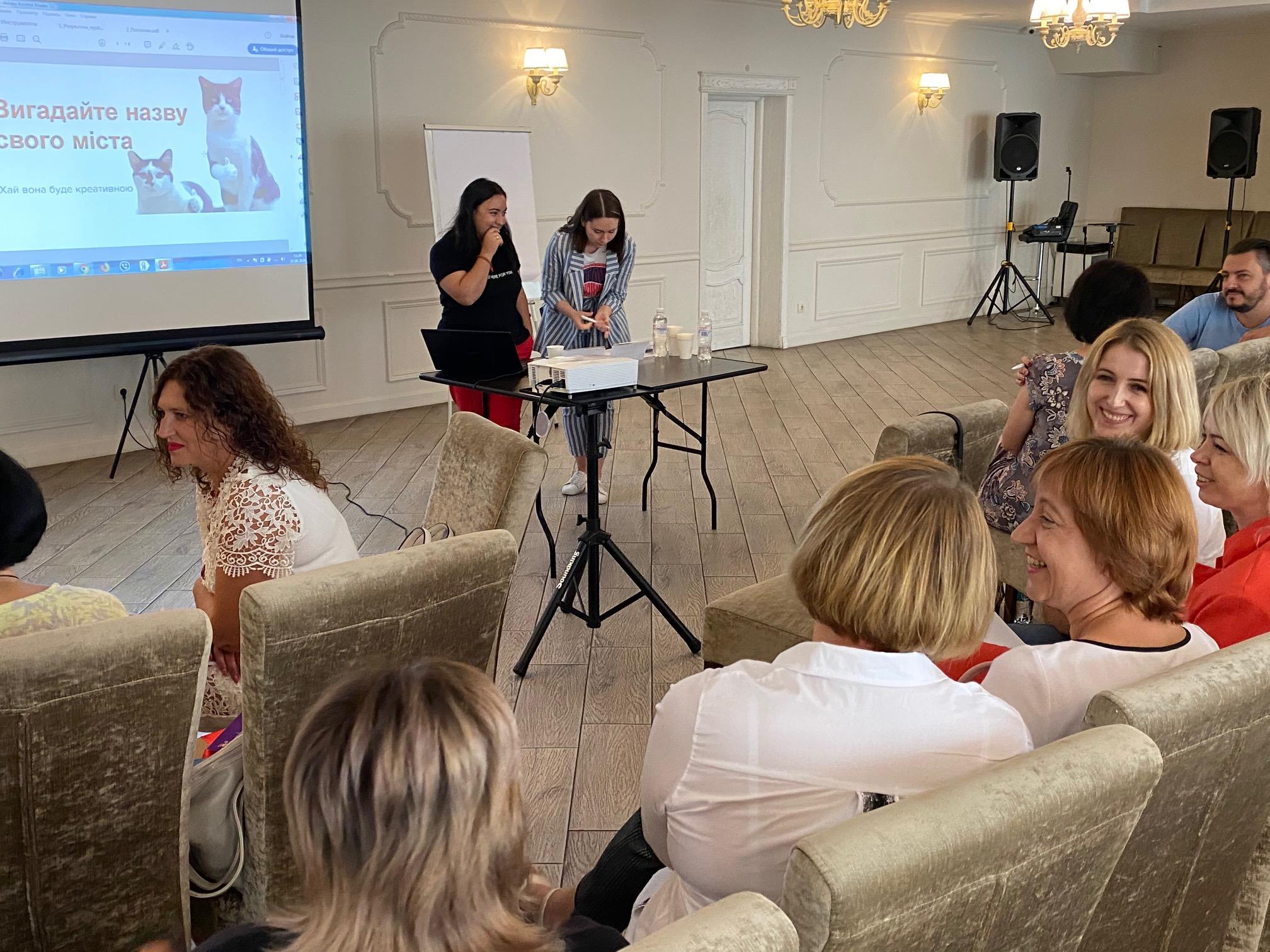 Тренінг для редакторів реформованих ЗМІ на  тему: «Робота з аудиторією: як стати впливовим медіа громади та постійно нарощувати кількість читачів»