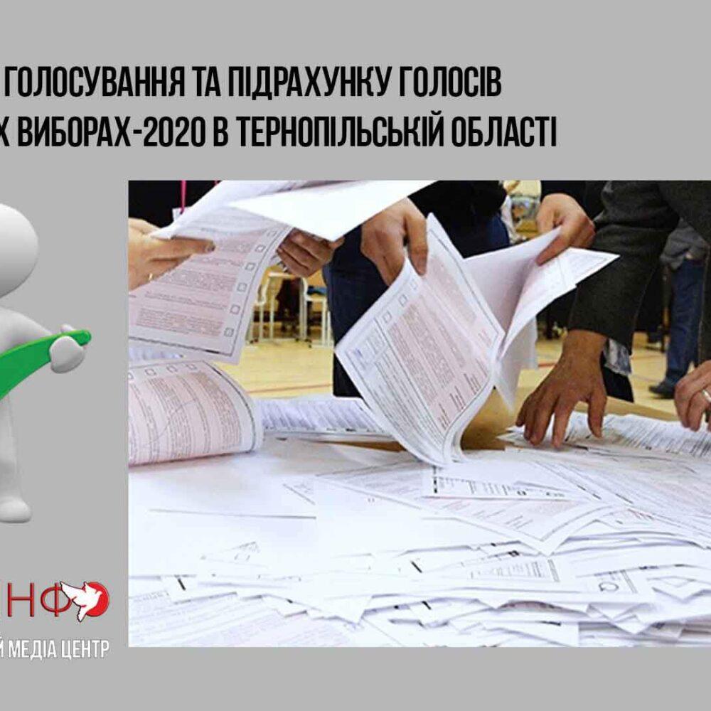 Пряма трансляція. 13:00 26 жовтня пресконференція «Оцінка дня голосування та підрахунку голосів на місцевих виборах-2020 в Тернопільській області»