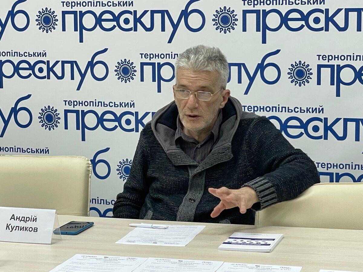 Андрій Куликов:«У вас має бути розвинене почуття господаря в студії»