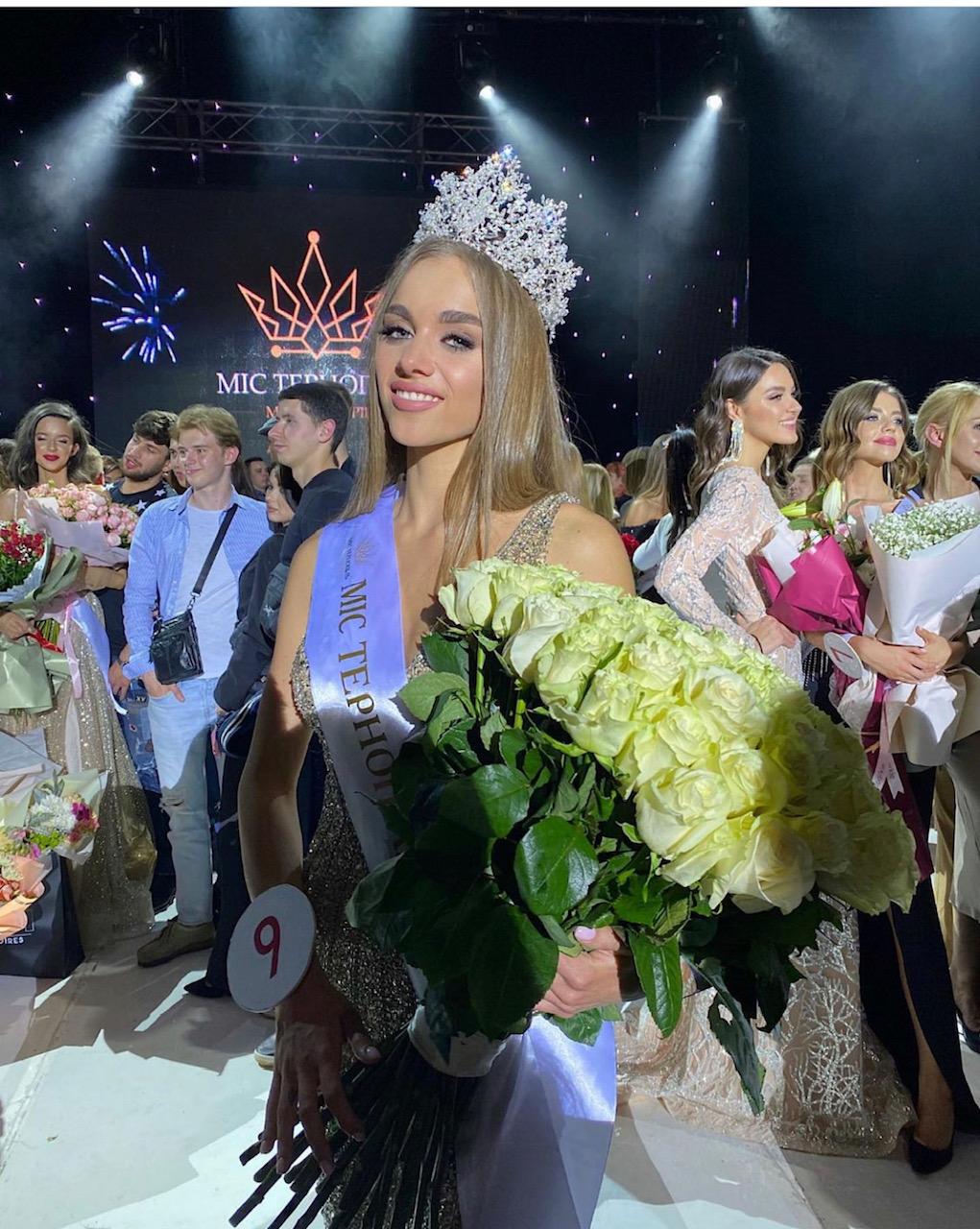 «Міс Тернопіль-2021» стала 20-річна Марта Резніченко