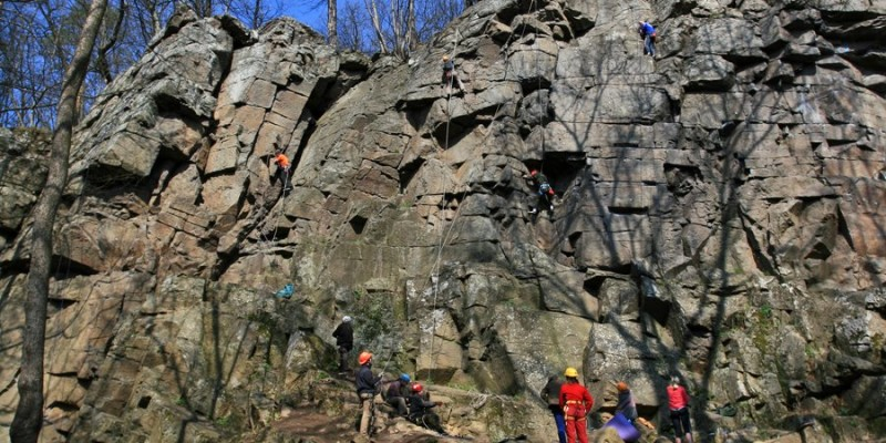А ви бачили Денишівський скеледром?