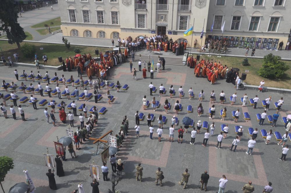 Перепоховали 78 закатованих жертв більшовицького терору