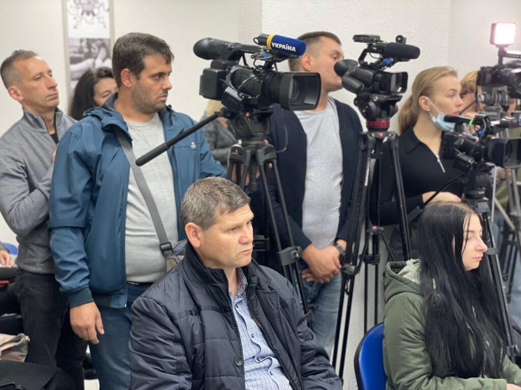 Пресконференція з приводу незрозумілих обставин смерті  тернопільського журналіста Ярослава Буяка